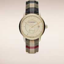 Burberry new Quartz PVD/DLC coating 40mm Steel Sapphire crystal