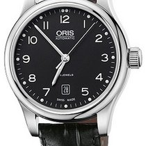 Oris Classic Steel Black United States of America, New York, Brooklyn