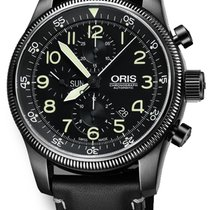 Oris Big Crown Timer Steel Black United States of America, New York, Brooklyn