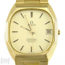 Omega Constellation Chronometer 750er Gelbgold Quarz Revision