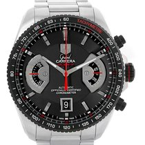 TAG Heuer Grand Carrera Black Dial Automatic Mens Watch Cav511c