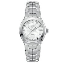TAG Heuer Link Lady new Quartz Watch with original box and original papers WBC1312.BA0600
