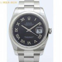 ロレックス (Rolex) ロレックス 116200 D番 ブラックサンビーム