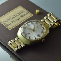 Longines ULTRARARE ULTRONIC VINTAGE OVERSIZED GOLD PLATED...