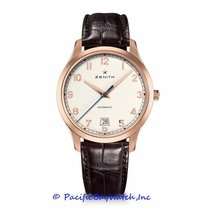 Zenith Captain Central Second Rose gold 40mm White United States of America, California, Newport Beach