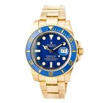 Rolex Submariner 116618 Mens Automatic Ceramic Watch Blue Dial...