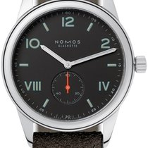 NOMOS Club Campus Steel 38.5mm Black United States of America, New York, Airmont
