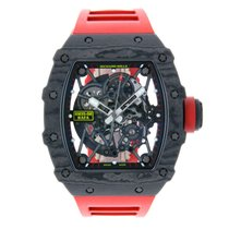 Richard Mille Carbone 49.94mm Remontage automatique RM35-02 nouveau