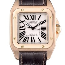 Cartier Santos 18K Rose Gold