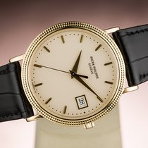 Patek Philippe CALATRAVA DATE YELLOW GOLD