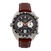 Heuer Chronograph 42mm Automatic pre-owned Black