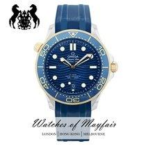 歐米茄 Seamaster Diver 300 M 金/鋼 42mm 藍色