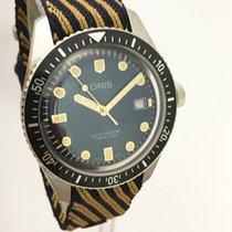 Oris Divers Sixty Five Stahl 42mm Blau