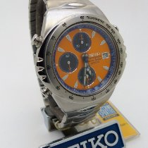 Seiko Chronograph 40mmmm Quartz 1998 new Orange