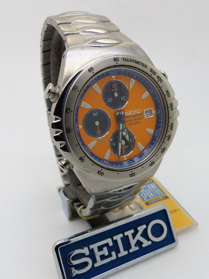 47d337c876d Seiko Giugiaro 7T32-6H60 Sports 150 Alarm Chronograph Ref ... for  529 for  sale from a Trusted Seller on Chrono24