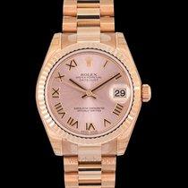Rolex Datejust Rosa guld 31.00mm Lyserød