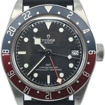 Tudor Black Bay GMT pre-owned 41mm Black Date Rubber