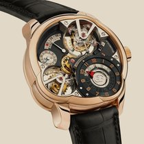 Greubel Forsey Rose gold 43.5mm Manual winding 9000 2982 new