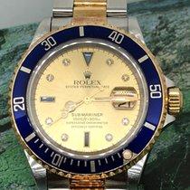 Rolex Submariner Date Gold/Steel 40mm Blue No numerals Singapore, Singapore