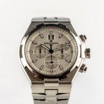Vacheron Constantin Overseas Chronograph Acier 42mm Argent Sans chiffres