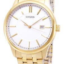 Citizen Gold/Stahl 40mm Quarz BI1052-51A neu