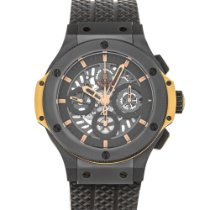 Hublot Big Bang Aero Bang pre-owned 44mm Black Chronograph Rubber