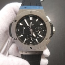 Hublot Big Bang 44 mm Сталь 44mm Черный Без цифр