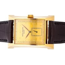 Patek Philippe Pagoda Yellow gold 29mm Champagne Roman numerals United States of America, New York, Greenvale