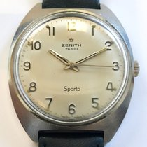 Zenith Sporto Steel 36mm Silver (solid) Arabic numerals