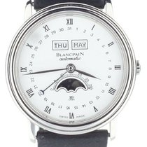 Blancpain pre-owned Automatic 34mm White Sapphire Glass 3 ATM