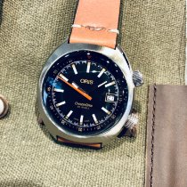 Oris Chronoris Steel 40mm Black No numerals