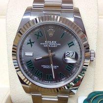 Rolex Datejust Gold/Steel 41mm Grey No numerals United Kingdom, London