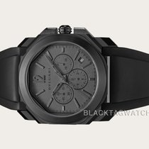Bulgari Steel Automatic Grey No numerals 41mm new Octo