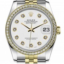 Rolex Lady-Datejust Gold/Steel 31mm White No numerals