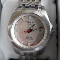 Tissot PRC 100 Steel 41mm White No numerals