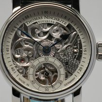 Thomas Ninchritz Steel 42mm Manual winding NI 2000.8 new