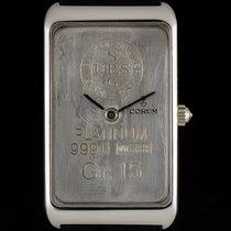 Corum Platinum 15g 999.0 Union Bank of Switzerland Ingot B&P...