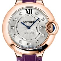 Cartier Ballon Bleu 33mm Rose gold 33mm Silver United States of America, New York, Airmont