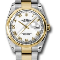 Rolex 116203 Datejust Stainless Steel & Yellow Gold Ladies...
