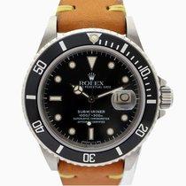 Rolex Submariner Date 16800 - Rolex Warranty - Perfect Tritium