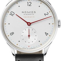 NOMOS Minimatik Steel 35.5mm White United States of America, New York, Airmont