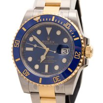 Rolex Submariner Date Oyster Perpetual 18K Yellow Gold &...