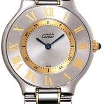 Cartier 21 Must de Cartier Gold/Steel 30mm Silver Roman numerals United States of America, New York, New York