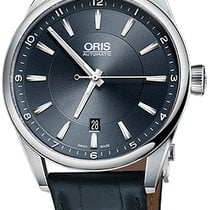 Oris Artix Date Steel 42mm Blue United States of America, New York, Airmont