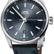 Oris Artix Date Steel 42mm Blue United States of America, New York, Airmont
