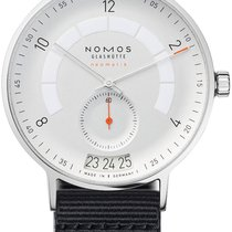 NOMOS Autobahn Steel 41mm White United States of America, New York, Airmont
