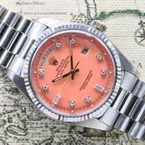 Rolex Day Date 'Salmon Stella Dial' Ref. 1803 Year 1977