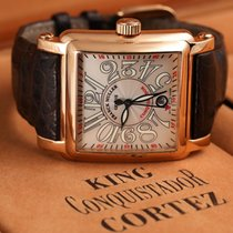 Franck Muller Conquistador Cortez Rose gold 41mm Silver Arabic numerals United States of America, New York, New York