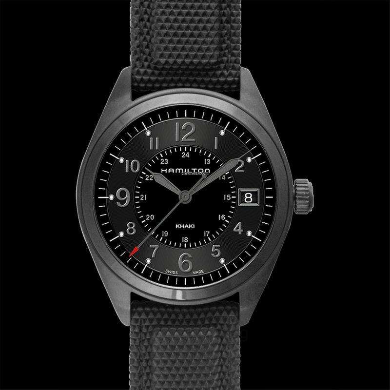 df72af7d592 Hamilton Khaki Field - Todos os preços de relógios Hamilton Khaki Field na  Chrono24