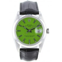 Rolex Oyster Perpetual Date Steel 34mm Green